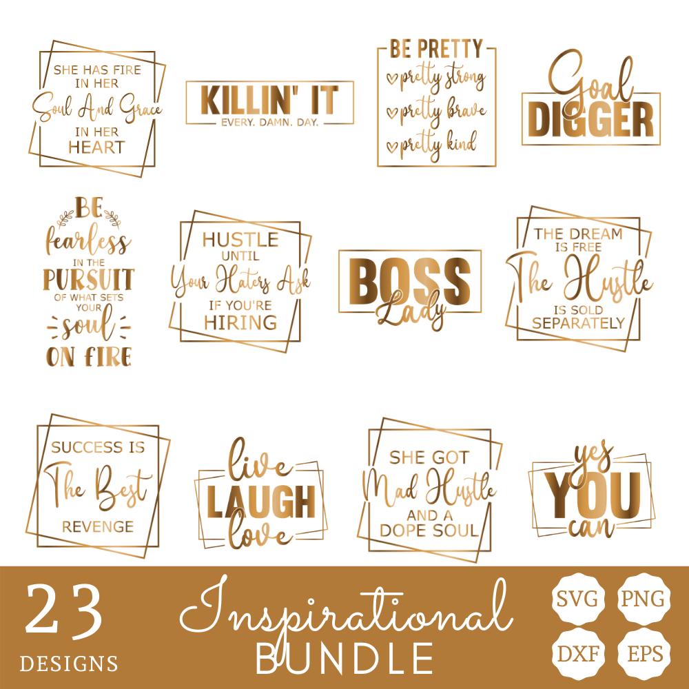 Inspirational SVG Bundle