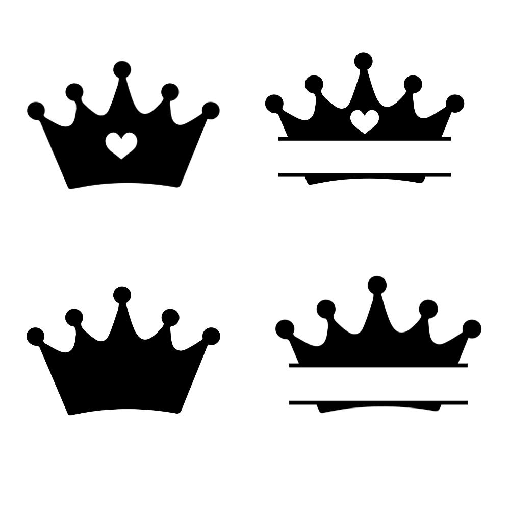 Pink Crowns SVG Bundle