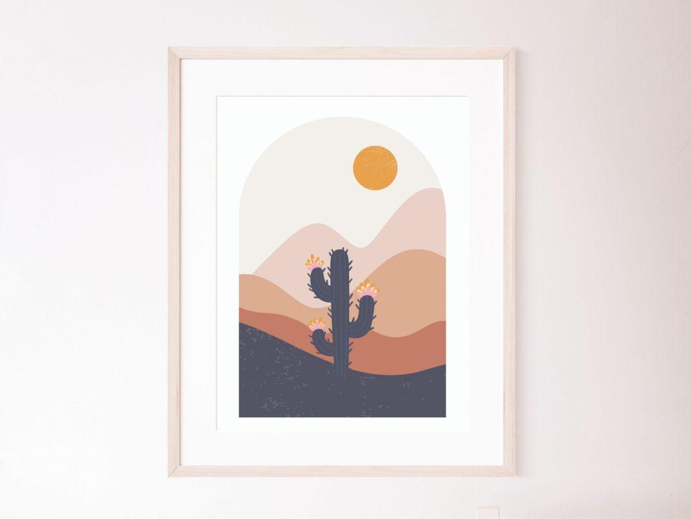 Abstract scene prints