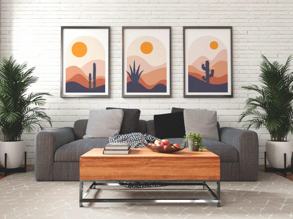 Abstract Scene Art Prints