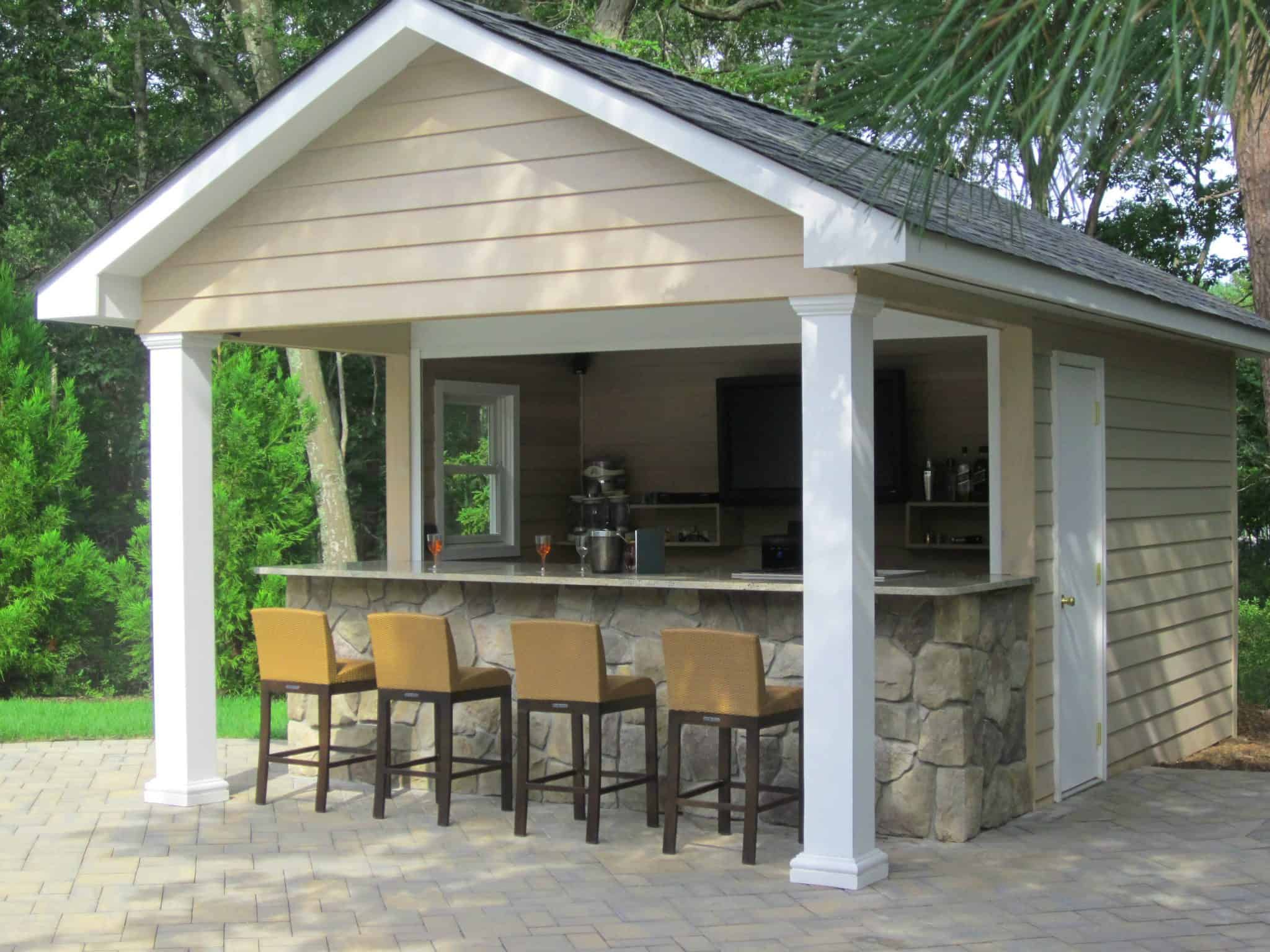 Custom Carpentry | Cabanas & Pool Houses Long Island on Cabana Designs Ideas id=15976
