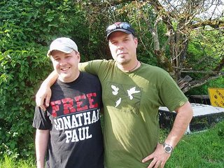 Daniel McGowan, left, and Jonathan Paul.