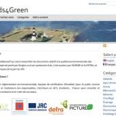 Capture d'écran de la page d'accueil du site Seeds4green.net