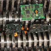Broyeur - disque dur - destruction