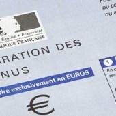 impôt sur le revenu - formulaire déclaration