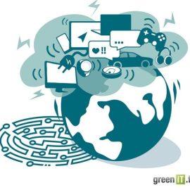 Infographie usages numérique étude Green IT