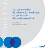 France Stratégie : La consommation de métaux du numérique : un secteur loin d'être dématérialisé