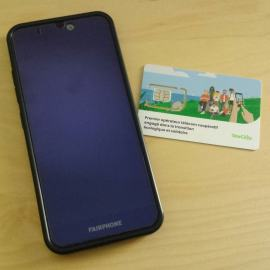 Fairphone 3 reconditionné + carte SIM Telecoop