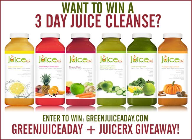 juicerx cleanse giveaway