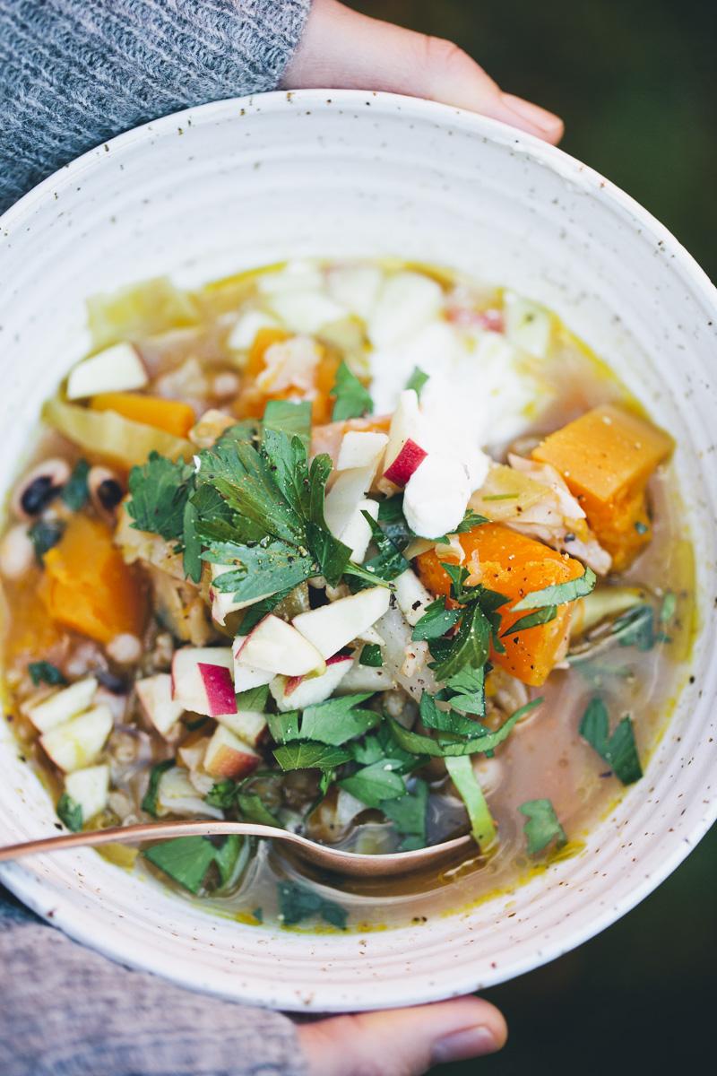 Green Kitchen Stories » One-Pot Butternut & Cabbage Stew