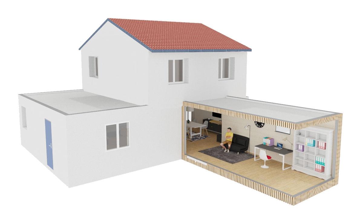 extension de maison 11 a 30m