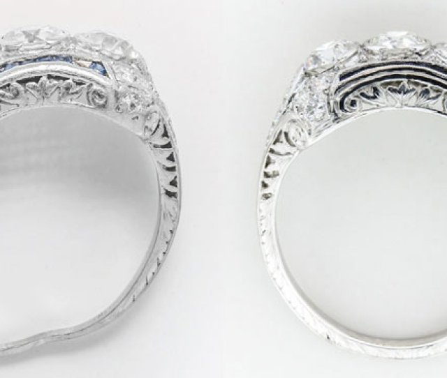 Victorian Engagement Ring Saved Jewelry Repair