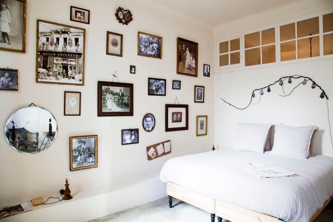 La chambre. © Elodie Rothan