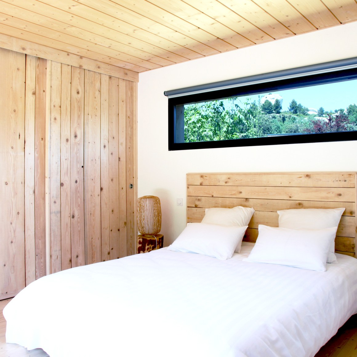 Chambre du Lodge, Domaine Méjean dans les Alpilles.