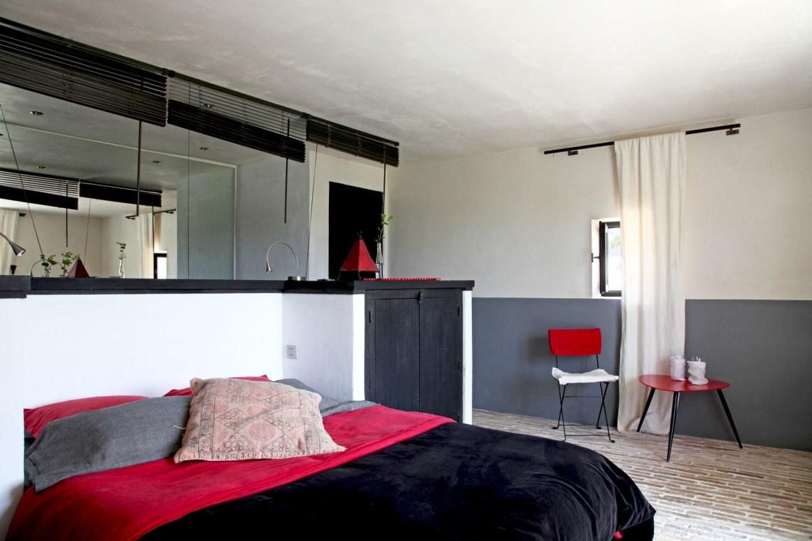 Chambre, maison d'hôtes Le Mas de la Tannerie à Gordes, dans le Luberon