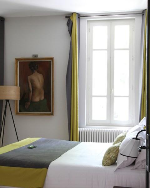 Chambre, maison d'hôtes La Cour des Sens, Luberon.