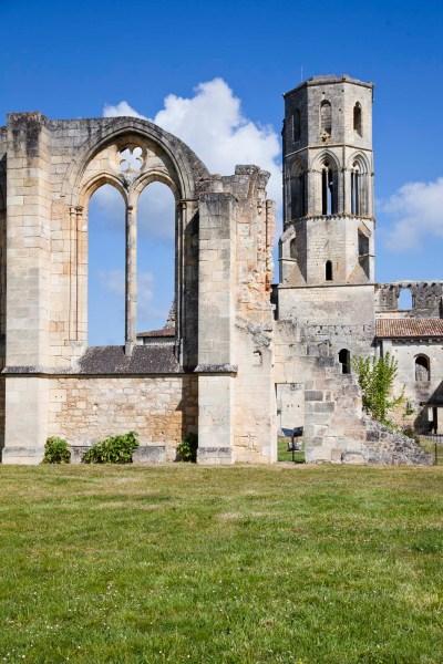 Abbaye de la Sauve Majeure. © Elodie Rothan