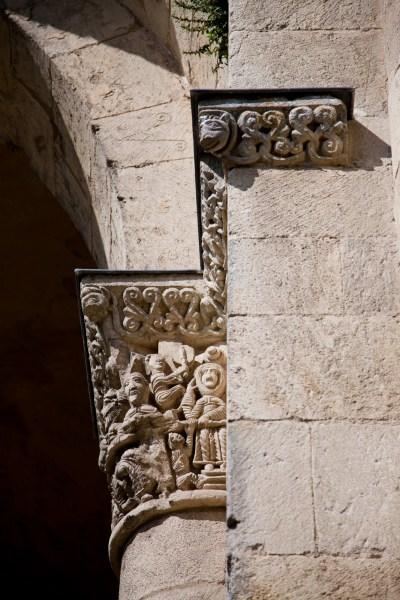 Détail, abbaye de la Sauve Majeure. © Elodie Rothan