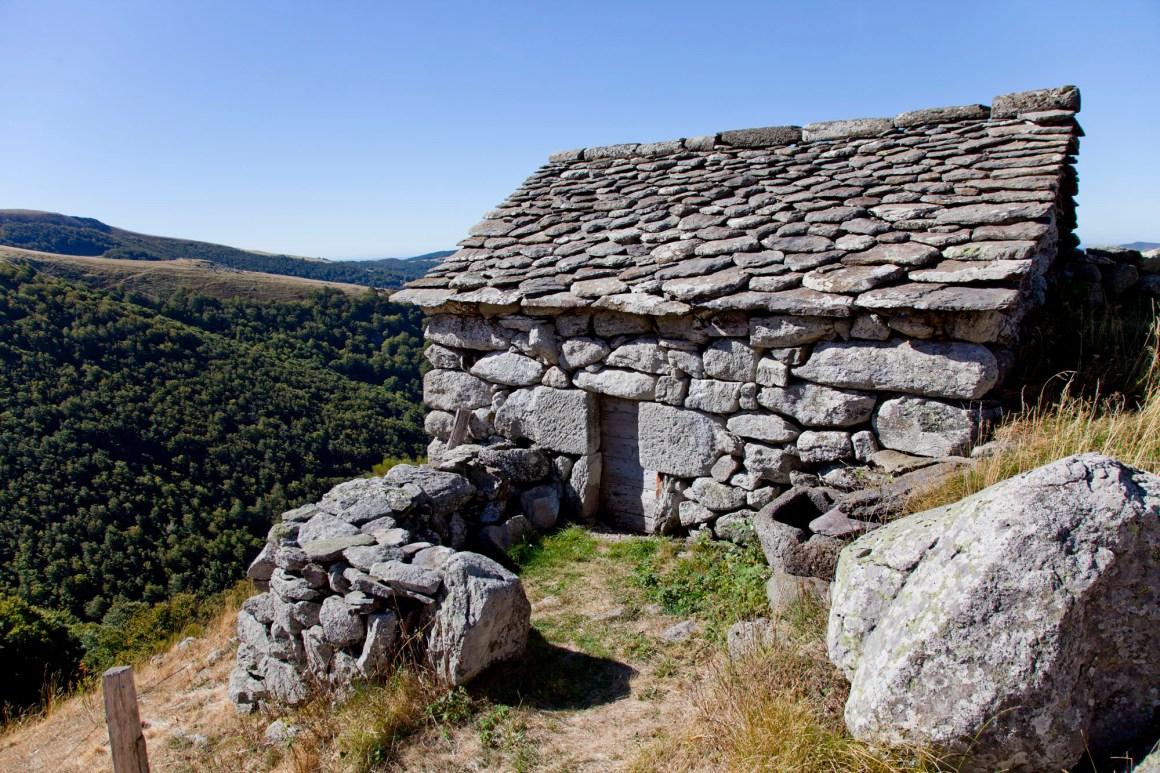 Refuge, Buron de Niercombe, Cantal, Auvergne