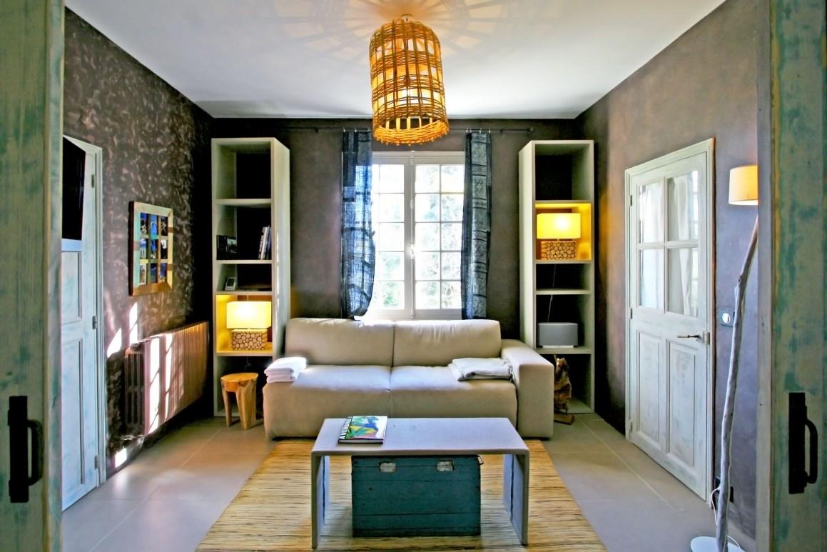 Suite Cabanon Bleu, maison d'hôte La Part des Anges dans les Alpilles