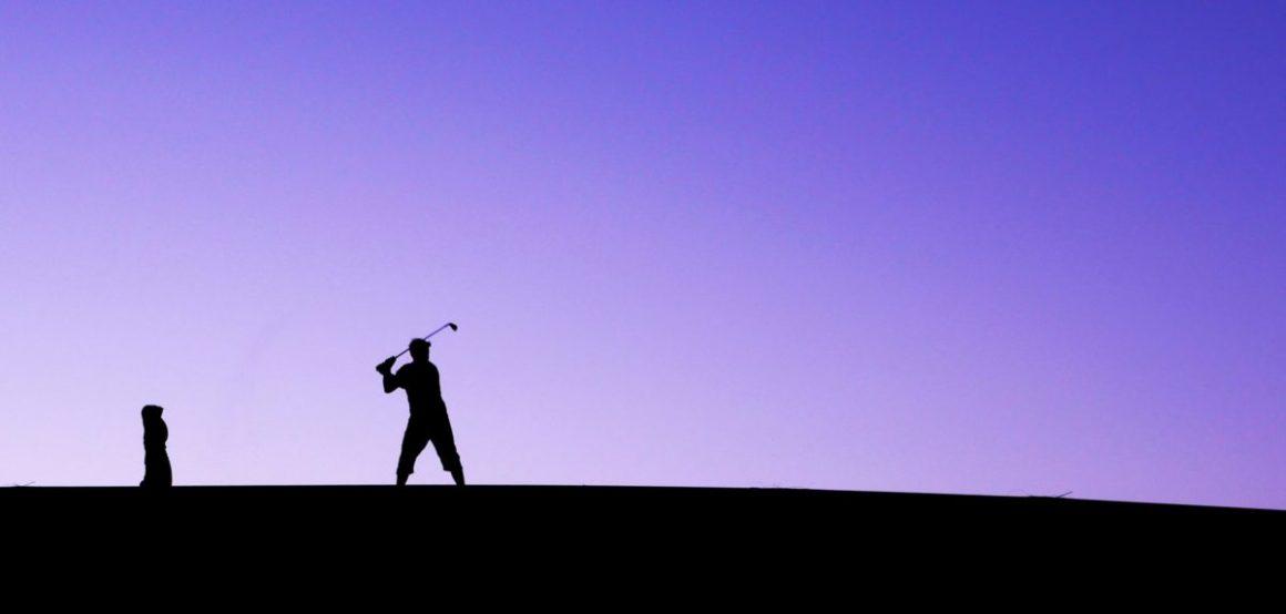 Séance de swing dans les dunes. © Elodie Rothan