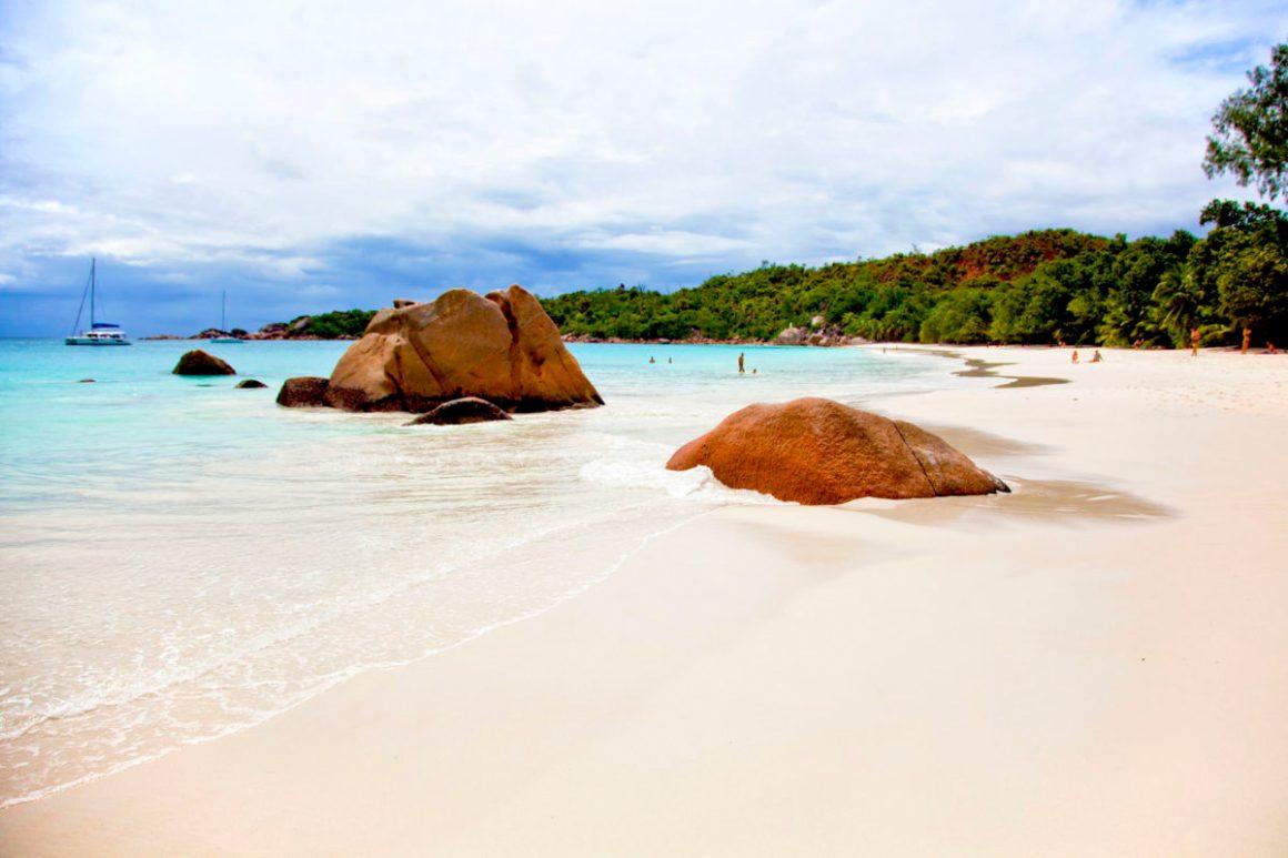 Anse Lazio, île de Praslin, Seychelles. © Elodie Rothan