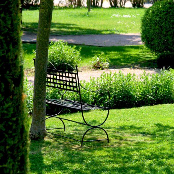 Pause dans les jardins, Baumanière