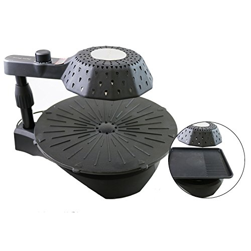 3D smokeless electric grill infrared heat grill for home ... on Indoor Non Electric Heaters id=50891