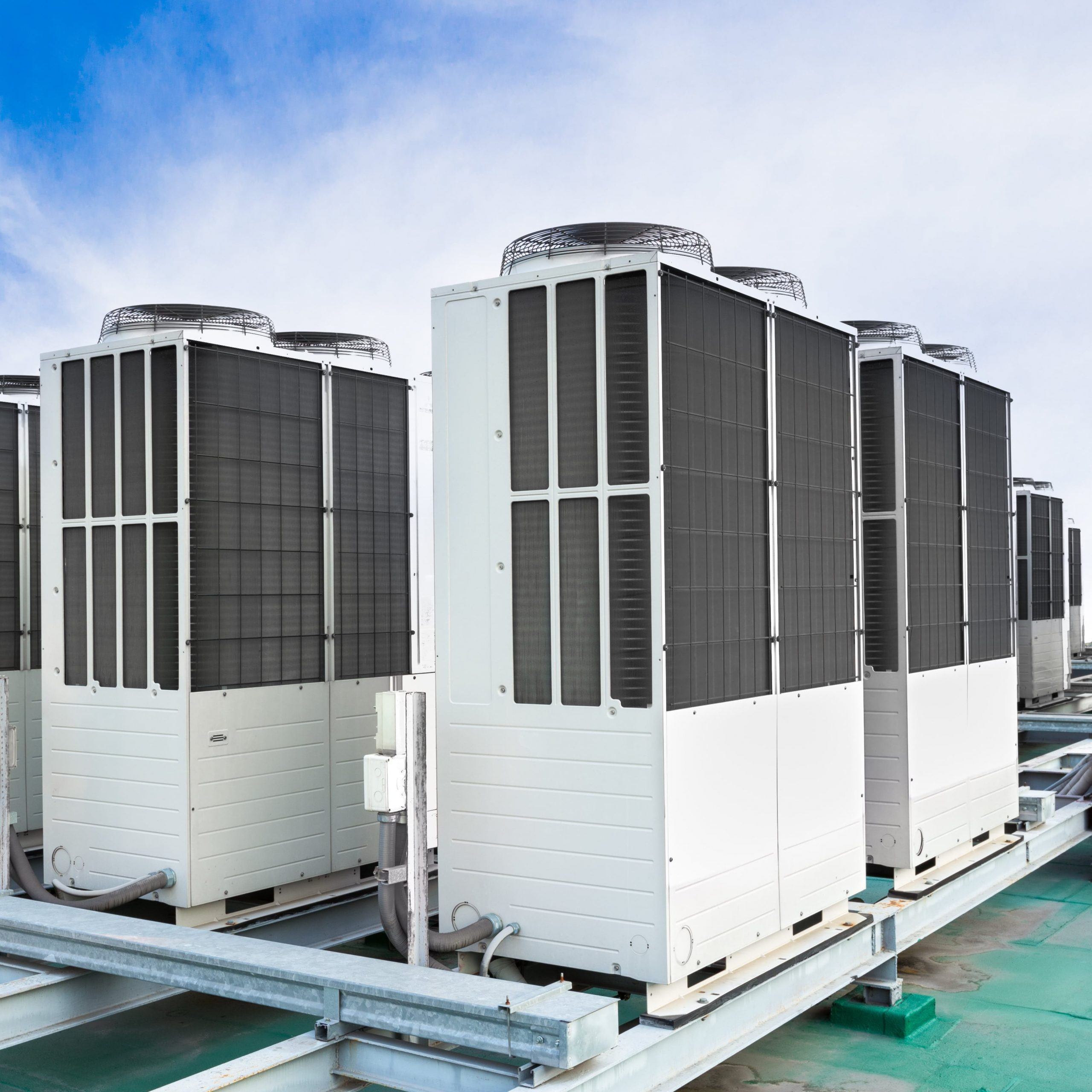 Commercial HVAC System Rooftop AC Units