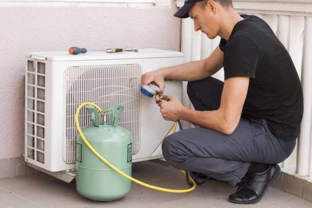 AC Repair and Refrigerant Recharge