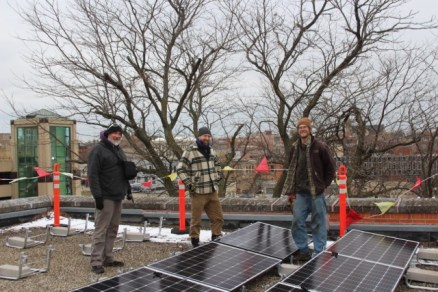 Photographer Joshua Schultz meets the install team of ReThink Electric