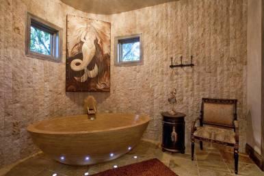 Opulent Luxury Awaits You in this Custom Built Bathroom