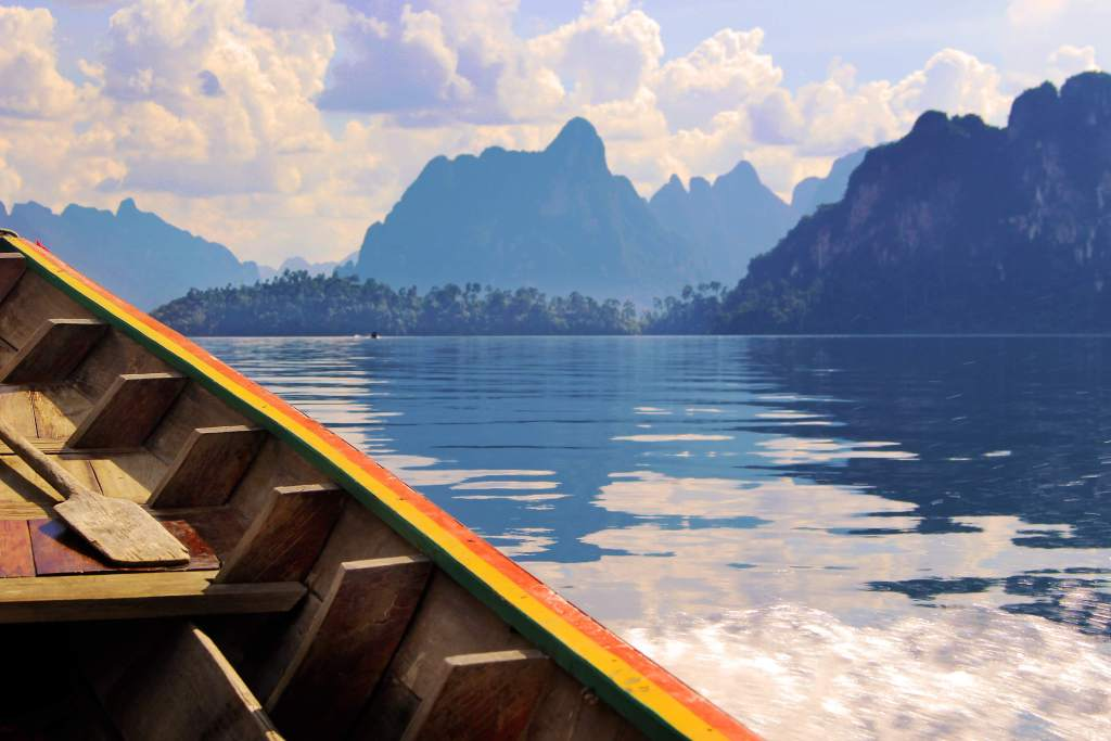 Khao Sok Lake in Thailand