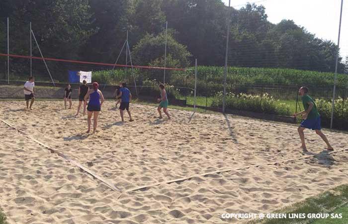 Green Lines Group: campo da beach volley di Rogeno
