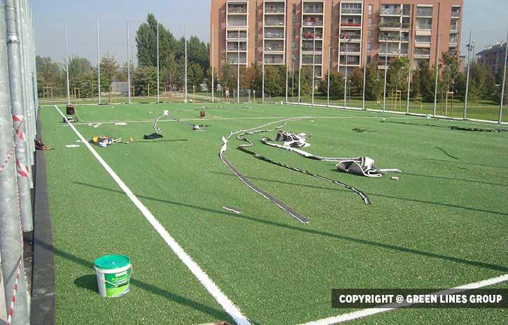 Realizzazione campo da calcetto a Milano