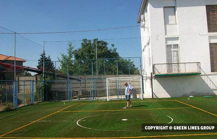 Realizzazione campo polivalente a Vigevano