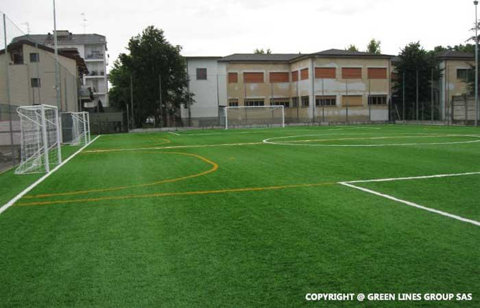 Green Lines Group: realizzazione di campi da calcio sintetici
