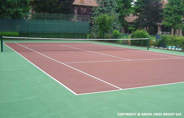 Green Lines Group: realizzazione di campi da tennis