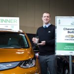 Chevrolet Bolt at the Canadian Green Car Award at the 2017 Green Living Show