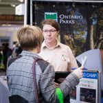 Ontario Parks exhibits at the 2017 Green Living Show