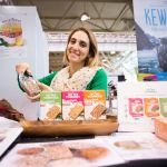 Oh My Yummies exhibits at the 2017 Green Living Show