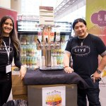 Live Kombucha exhibits at the 2017 Green Living Show