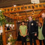 Mayor John Tory visits the 2017 Green Living Show