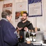 Mayor John Tory visits Rosewood Estate Winery in the Food Feature at the 2017 Green Living Show