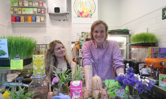Urban Orchard Juice Bar Madrid: zesty organic juices and beautiful people