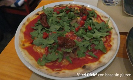 Pizzi Dixie: new VEGAN restaurant in Madrid! (video)