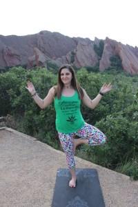 light & lit cannabis infused yoga