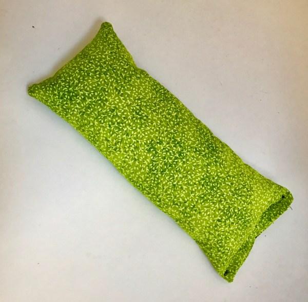 green sprig lavender eye pillow