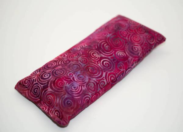 pink cosmos lavender eye pillow