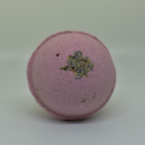 purple passion bath bomb